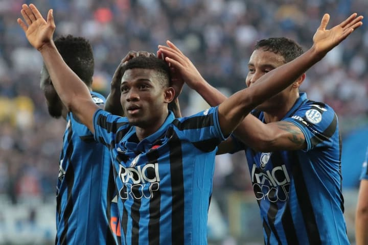 Traore scored on his Atalanta debut at the age of 17