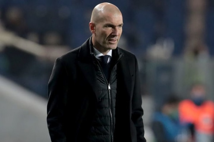 Zinedine Zidane's side laboured to a 1-0 win over ten-man Atalanta