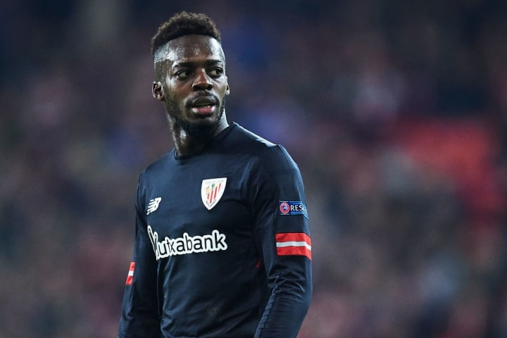 Inaki Williams has played in all of Athletic Bilbao's last 18 Europa League games