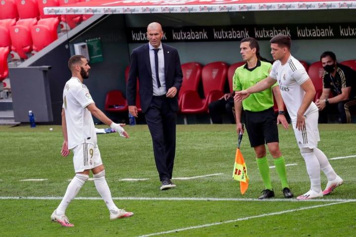Jovic, Karim Benzema, Zinedine Zidane