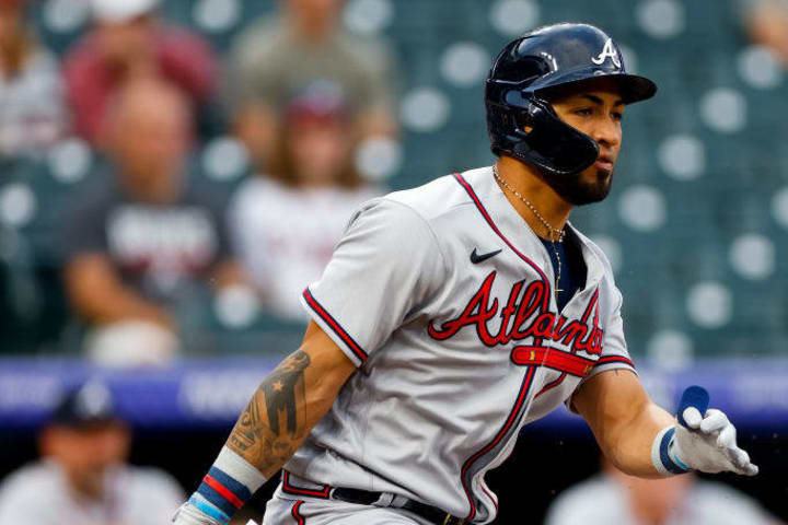 Eddie Rosario went from being a starter with the Indians to a substitute in the Braves during the 2021 campaign due to his poor performance