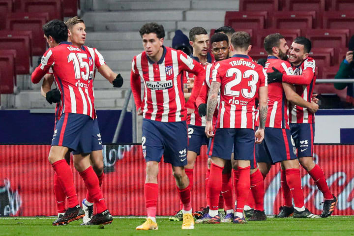 Atletico are flying high despite another cup exit