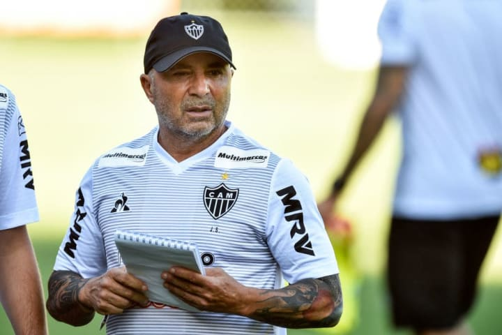 Jorge Sampaoli entraîne actuellement l'Atlético Mineiro.