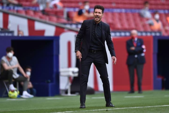 Diego Simeone Treinador Barcelona