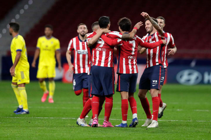 Atletico Madrid are one of only three sides unbeaten domestically in Europe's top five leagues since football shut down in March