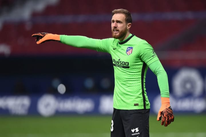 Oblak doesn't concede goals ever