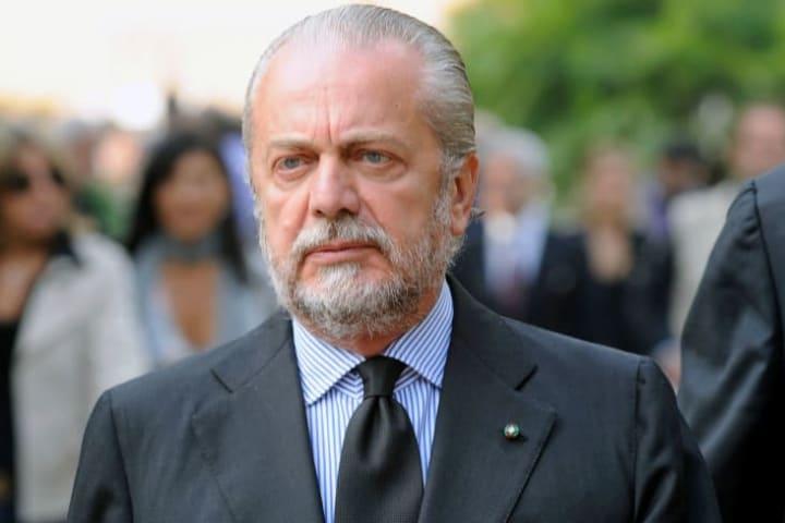 Aurelio De Laurentiis President of SSC - Sportive Soccer...