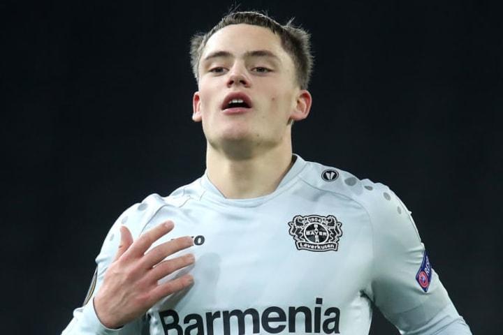 Florian Wirtz has replaced Kai Havertz as Bayer Leverkusen's prodigy