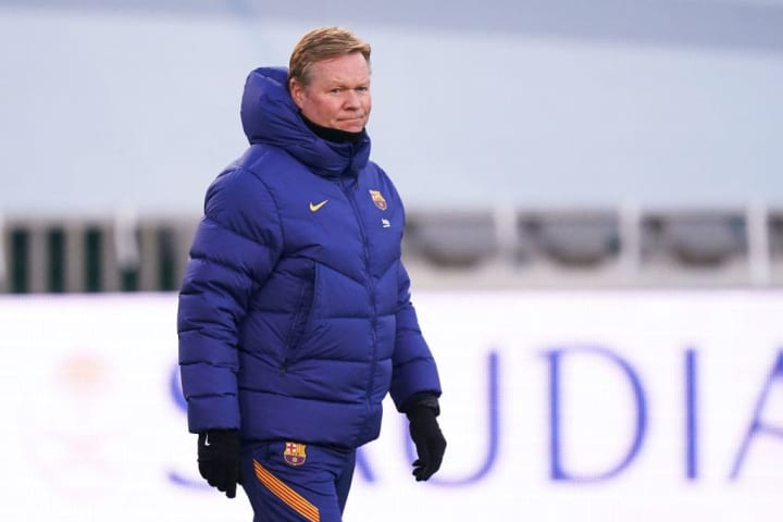 Ronald Koeman wants a striker but may have to settle
