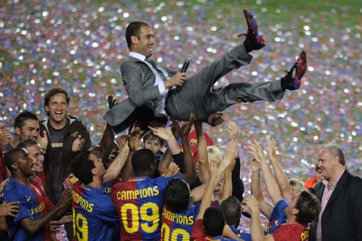 O Barcelona de Guardiola de 2009 ganhou tudo (literalmente).