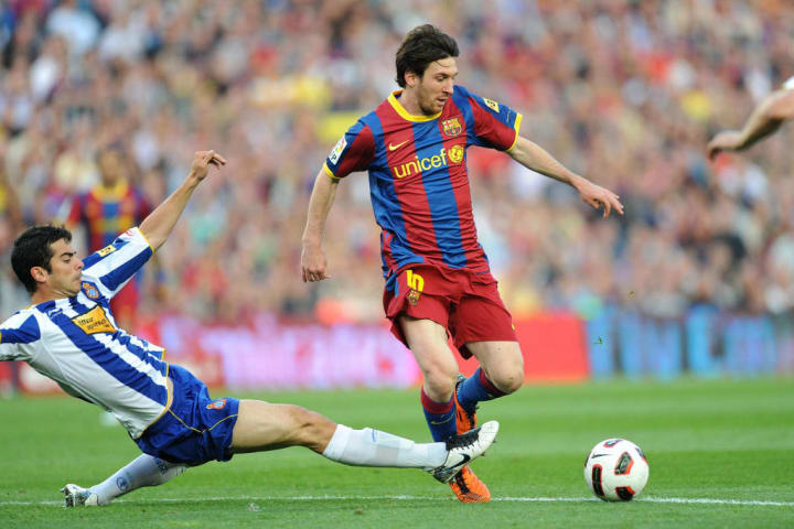 Leo Messi, Raul