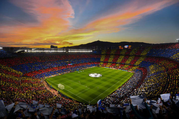 The game will take place at camp Nou