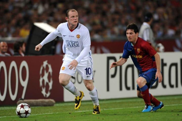 Wayne Rooney, Lionel Messi