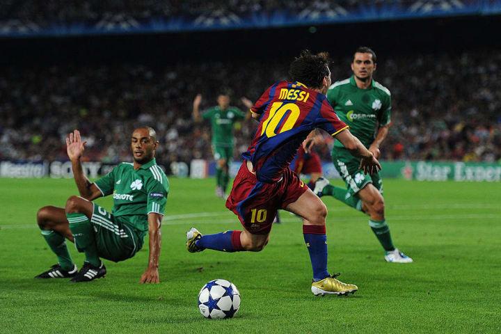 Lionel Messi, Cedric Kante