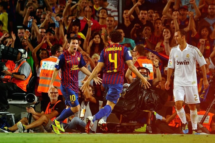 Barca's 3-2 victory handed them the Spanish Super Cup