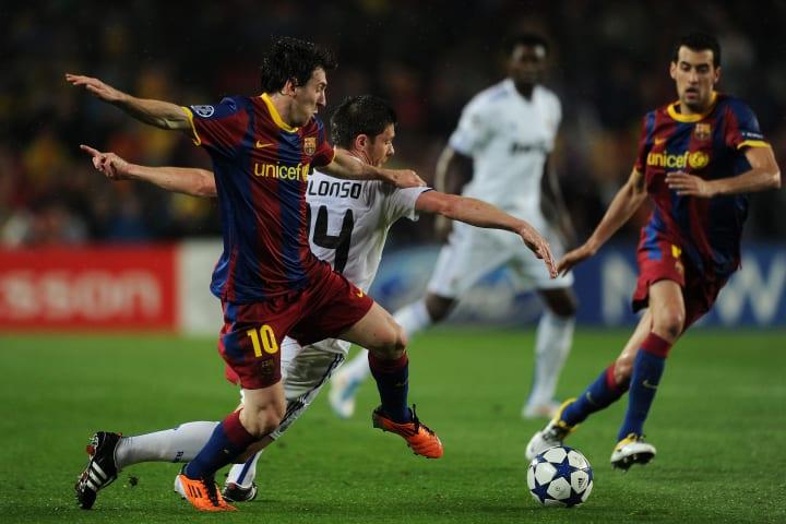 La Blaugrana advanced to the final following a 1-1 draw in the second leg