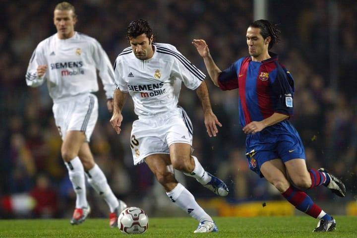 Luis Figo, Luis Garcia, David Beckham