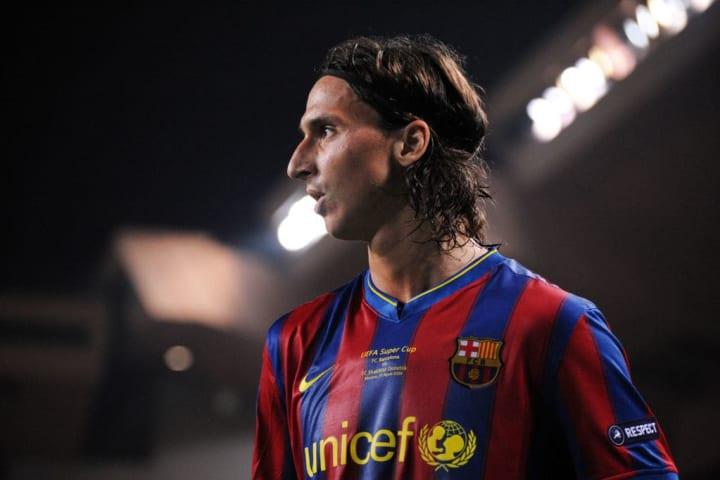 Zlatan Ibrahimovic Barcelona Troca Eto'o