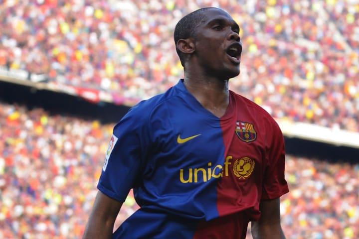 Samuel Eto'o, uno de los grandes goleadores de la historia del Barcelona