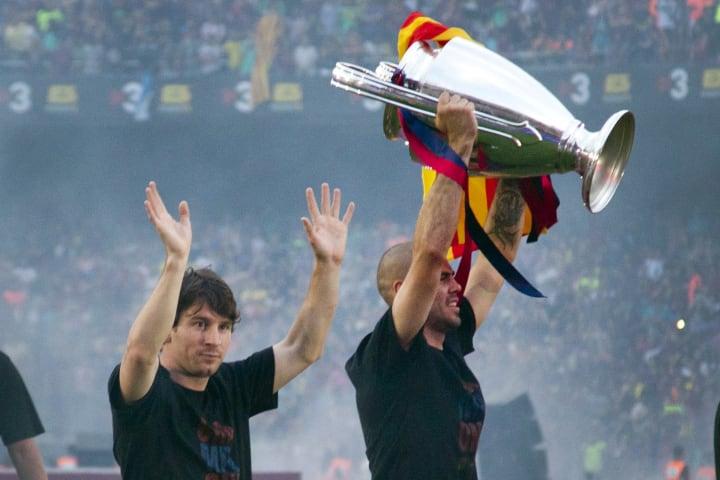 Lionel Messi Victor Valdés Parceiro Carreira Barcelona