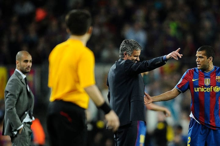 Mourinho has faced Guardiola at a number of clubs