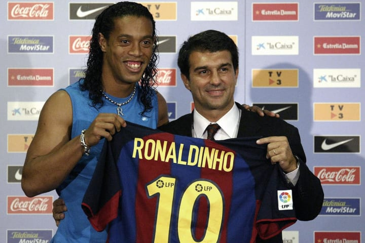 Barcelona's new Brazilian soccer star Ro