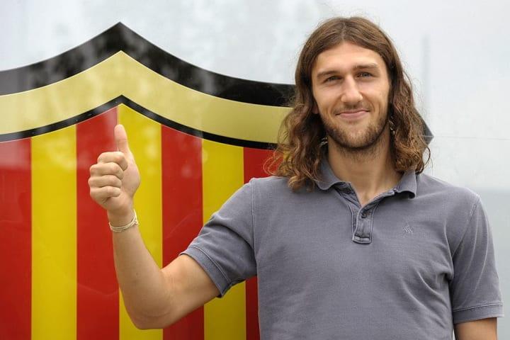 Barcelona's new signing Ukranian Dmytro