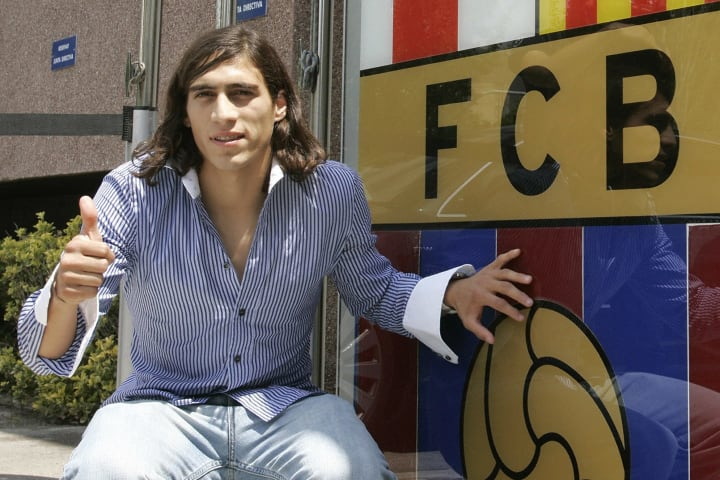 Barcelona's new signing Uruguayan Martin
