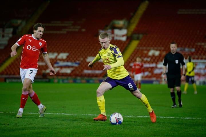 Huddersfield succumbed to a late Barnsley goal