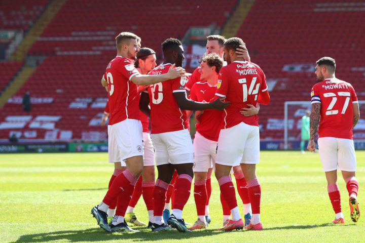 Barnsley secured their place in the play-off spots