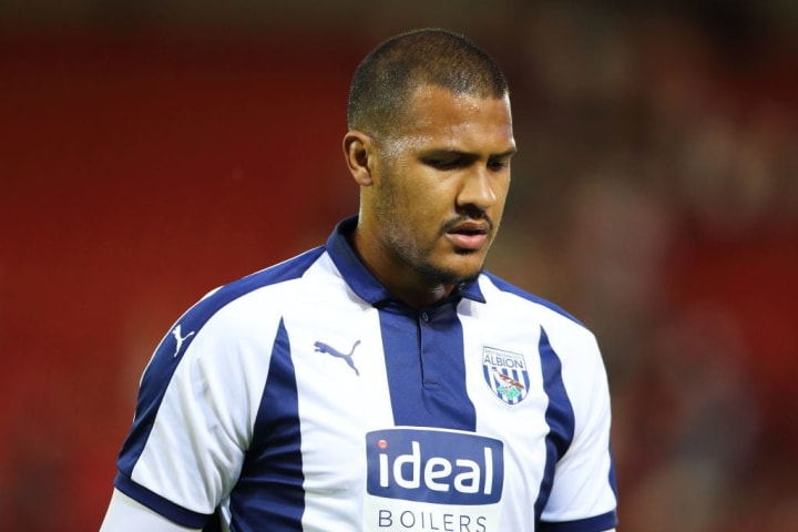 Salomon Rondon during his time at West Brom