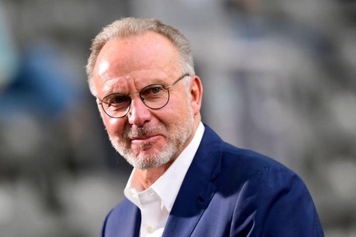 Bayerns Vorstandsvorsitzender Karls-Heinz Rummenigge (65) pflegt ein gutes Verhältnis zu Coman