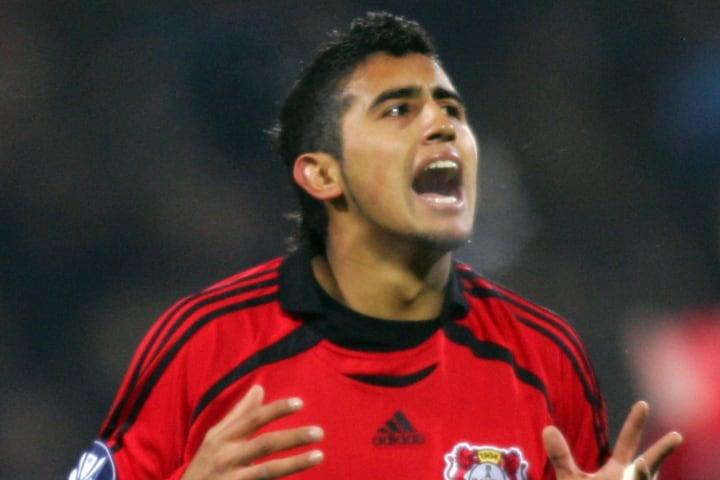 Arturo Vidal comenzó su carrera en Europa en el Leverkusen