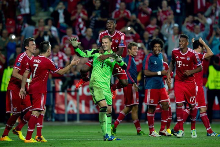Die Roten claimed victory via penalties