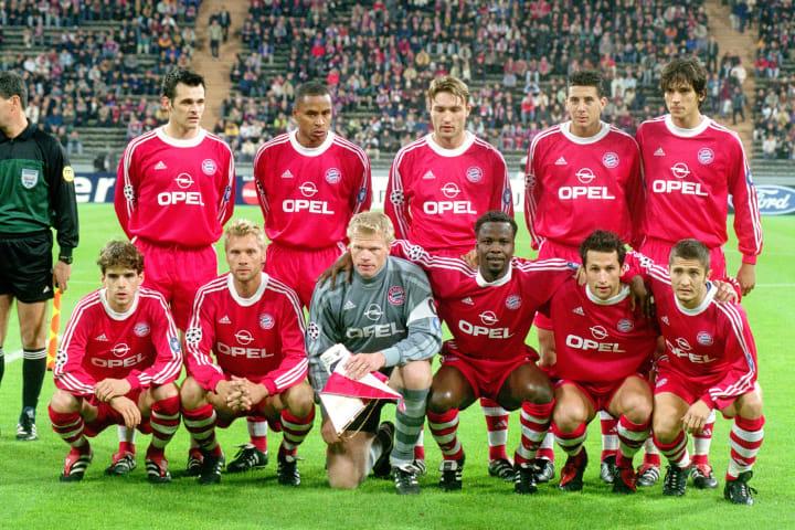 Bayern Munich team group