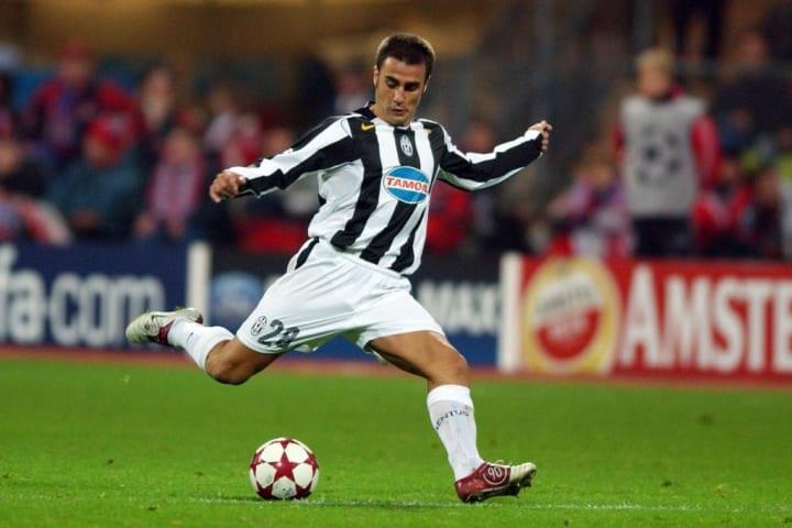 Fabio Cannavaro Juventus Troca Inter de Milão Carini