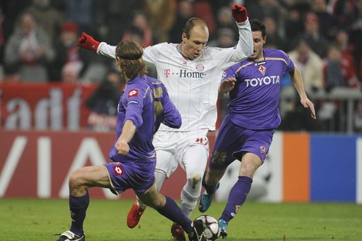 Bayern Munich's Dutch striker Arjen Robb