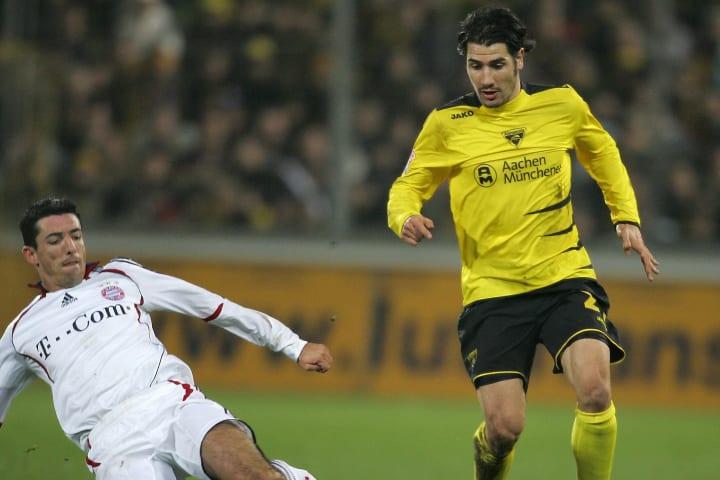 Bayern Munich's Dutch striker Roy Makaay