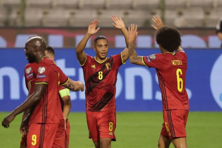 Axel Witsel, Youri Tielemans