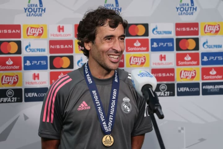 Raul is currently in charge of Real Madrid Castilla