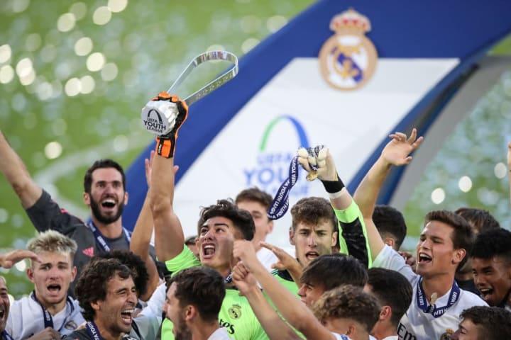 Il Real Madrid U19, vincitore dell'ultima edizione