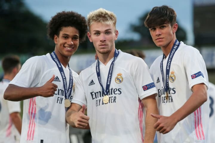 Three of Madrid's young stars