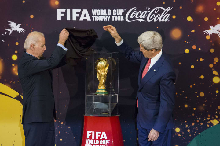 'There's nothing quite like the World Cup' - Biden