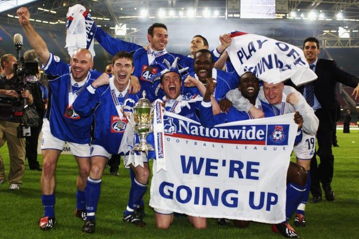 Birmingham City celebrate victory