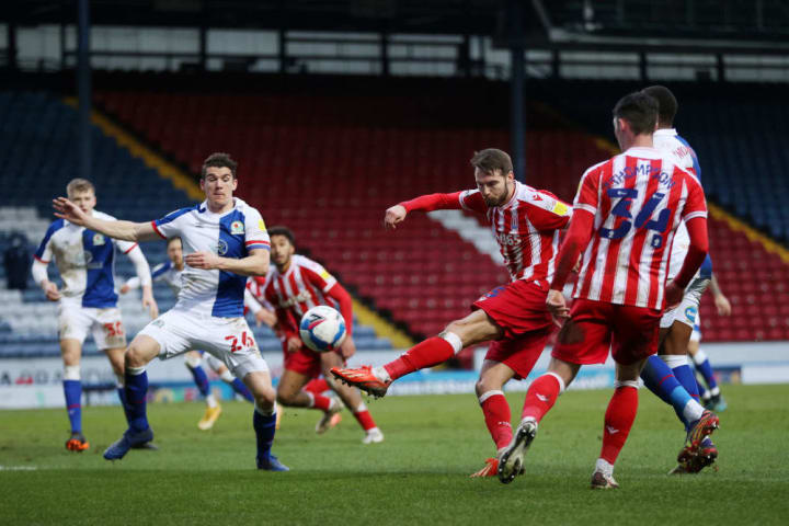 Stoke nearly took all three points from Ewood Park