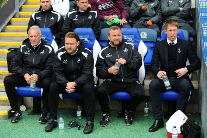 Potter selama musimnya bersama Swansea
