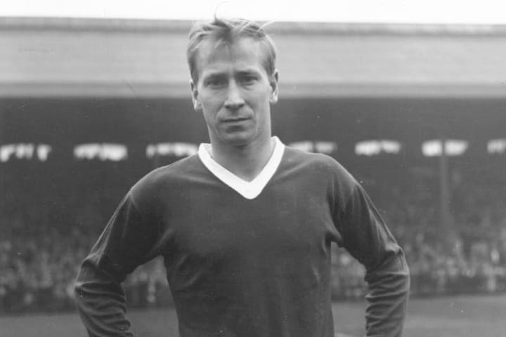 Bobby Charlton scored a hat-trick in a big win over Borussia Dortmund in 1964