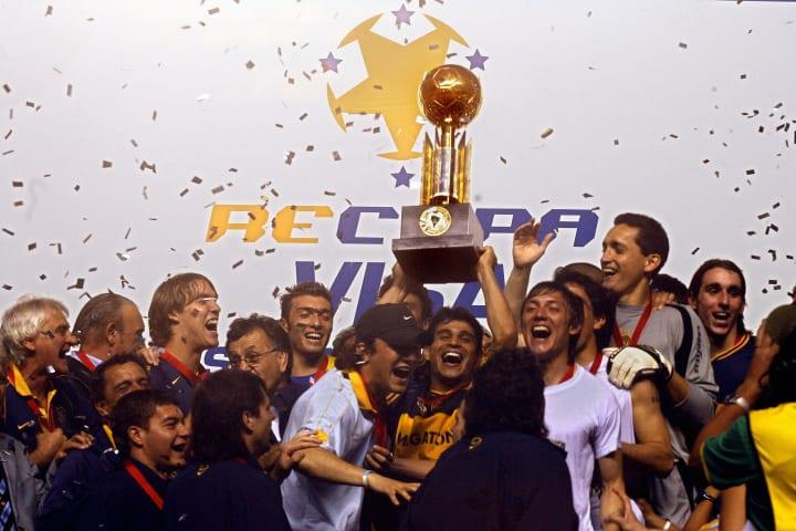 Recopa Sul-Americana Decisão Palmeiras Defensa y Justicia Boca Juniors São Paulo 2006