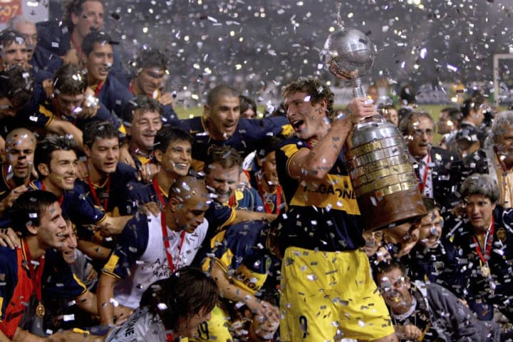 Boca Juniors História Finais Libertadores 2007 Campeão Vice