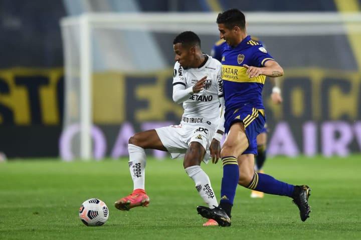 Diego González Tchê Tchê Atlético-MG Boca Juniors Libertadores